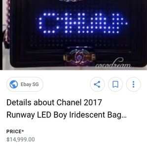 eeddf8edeb0a CHANEL Bags - Authentic Chanel LED 2.0 Le Boy Flap Bag